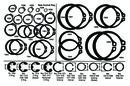Apex Tool Group KD1022 Basic Internal Snap Ring 3000-X43 (20Pk)