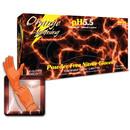 Atlantic Safety Products LGOR-L Orange Lightning Nitrile Large 100/Bx