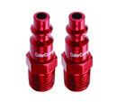 Legacy A73440D-2PK Plug Type D Red 1/4