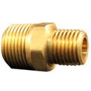MILTON S-646-1 M Hex Nipple 1/4X3/8 2Pk