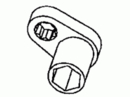 Miller Special Tools MSL4558A Wrench, Strut Rod Nut Socket - No Return