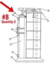 A & A Hydraulic Repair 822578 Kit Pump Strap, Mv7201