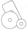 A & A Hydraulic Repair 823398 Adapter Plate Kit, Mv4050M