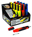 Performance Tool Wilmar 9161 Pocket Screwdriver Combo Display