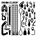 Mo-Clamp Tool Board Small #1 Tool Board-With Tool