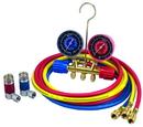 ROBINAIR 45111 R134A Brass Manifold Kit Set 72