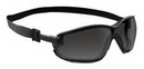 Sas Safety SA5103-01 Blk Frm/Gray Lens/Anti Fog Goggles