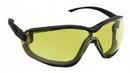 SAS Safety Corp 5103-02 Goggle Anti Fog Black Frame/Yellow Lens