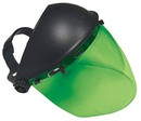 SAS Safety Corp 5147 Face Shield-Dark Green Deluxe