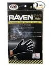 SAS Safety Corp Bag Of 3Pr Raven Lrge Gloves