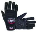 SAS SAFETY 6712 Tool Tech Impact Glove Blk Med