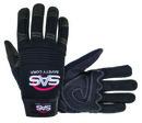 Sas  Safety Tool Tech Impact Glove Blk 2Xl, SA6715