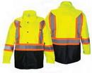 SAS Safety Corp SA690-1520 Rain Jacket Class 2 Yellow Xl