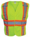 SAS Safety Corp Vest Fr Brkawy Cls 2 Hi-Viz-S/M