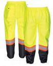 SAS Safety Corp SA690-1911 Rain Pants Class E Compliant Yellow 2Xl