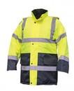 SAS Safety Corp Parka Jacket Cls 3 Hi Viz Yellow-Xl