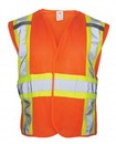 Sas  Safety SA692-1708 CLASS 2 HI-VIZ FR BREAKAWAY VEST-S/M
