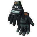 Steiner Industries 0962L The Gripper Deluxe Mech Glove Black Lg