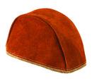 Steiner Industries L-Split Leather Welders Beanie Cap Brown