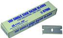 S & G TOOL AID 87960 Single Edge Razor Blades (100/Bx)