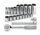 SK Hand Tool 4551 Set Skt 3/8Dr 12Pt Fr 21Pc