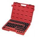 Sunex 3351 3/8 Dr. 51 Pc. Met. Impact Socket Set