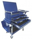 SUNEX INTERNATIONAL SU8013ABLDELUXE Deluxe Service Cart-Blue