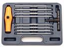 VIM Tools BHM100 Ratcheting Ball Hex T Hndl Met Ball 10 P