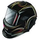 Victor Auto Dark Helmet W/ Pinstripes