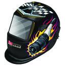 Victor Auto Dark Helmet Pistons