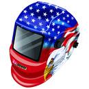 Victor Auto Dark Helmet Stars & Stripes