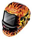 Victor Auto Dark Helmet Skull