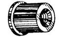 W & E WE2285 1/4-20 Scr 1/2Hl Well Nut 10Pk