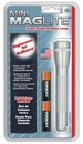 Maglite XM2A10H Mini Maglite Silvr W/Hlstr Pack