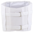 Body sport 1144X Body Sport Lumbosacral Body Support, 4X-Large, White, Metal Stays, Contains Latex