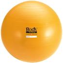 Body sport BULK65ABCM Body Sport Studio Series Fitness Ball (Exercise Ball), 65 Cm, Yellow, Slow Air Release, Bulk