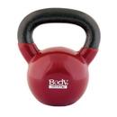 Body sport BDSKB30 30Lb Kettlebell, Latex-Free, Dark Red