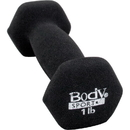 Body sport NDB01 Neoprene Dumbbell, 1 Lb, Latex-Free