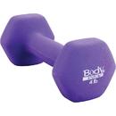 Body sport NDB04C Neoprene Dumbbell, 4 Lbs, Latex-Free, Light Purple