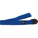 Body sport YSB8F 8 Foot Yoga Strap Blue Cotton Blend With Pvc Buckle