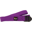 Body sport YSP6F 6 Foot Yoga Strap Purple Cotton Blend With Pvc Buckle