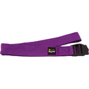 Body sport YSP8F 8 Foot Yoga Strap Purple Cotton Blend With Pvc Buckle