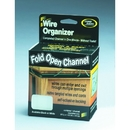 Master Manufacturing 00210 Cord Away Channel, Fold Open, White