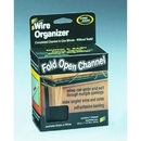 Master Manufacturing 00211 Cord Away Channel, Fold Open, Black