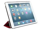 Monoprice 12440 Synthetic Leather Stand/Cover with Magnetic Latch for iPad Air 2, Red