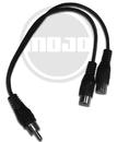Mojotone Male Rca Phono Plug To Female Rca Phono Jacks