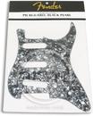 Fender Standard Stratocaster Guitar Pickguard Black Pearl 11 Hole 4 Ply S/S/S