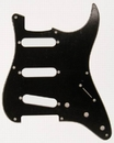 Fender Standard Stratocaster Guitar Pickguard '57 Black 8 Hole 3 Ply S/S/S
