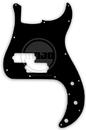 Mojotone Electric Guitar Pickguard For Precision Bass Gloss Black 3 Ply