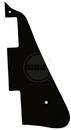 Mojotone Electric Guitar Pickguard For Les Paul Black 1Ply